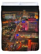 Vegas Strip Duvet Cover