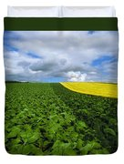 Vegetables, Cabbages Duvet Cover