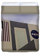 Vehicle Assembly Building Duvet Cover