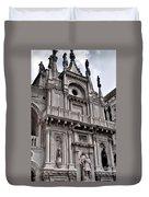 Venetian Architecture Iv Duvet Cover by Ellen Heaverlo