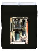 Venetian Doorway Duvet Cover