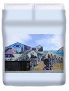 Venice Beach Wall Art 2 Duvet Cover