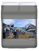 Venice Beach Wall Art 4 Duvet Cover