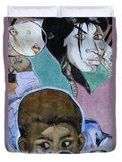 Venice Beach Wall Art 7 Duvet Cover