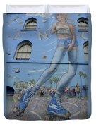 Venice Beach Wall Art 9 Duvet Cover