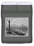 Venice: Grand Canal, 1875 Duvet Cover
