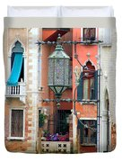 Venice Lamp Duvet Cover