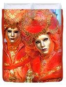 Venice Masks Duvet Cover