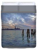 Venice San Giorgio Maggiore Duvet Cover