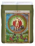 Venus Ruler Of Taurus And Libra Duvet Cover