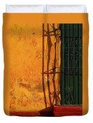 Verde Jaula Duvet Cover by Skip Hunt