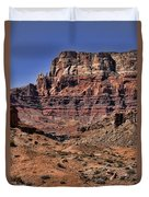 Vermilion Cliffs Arizona Duvet Cover