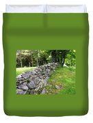 Vermont Stone Wall Duvet Cover