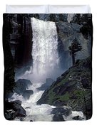 Vernal Falls Spring Flow Duvet Cover