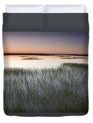 Vernal Pool At Sunrise Jepson Prairie Duvet Cover by Sebastian Kennerknecht