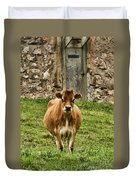 Vernon County Cow Duvet Cover