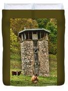 Vernon County Silo Duvet Cover