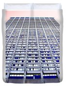 Vertical Urbanization Duvet Cover
