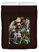 Very Tull Mushrooms Duvet Cover