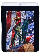 Veteran Warrior Duvet Cover