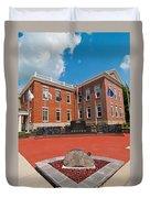 Veterans Memorial Hillsboro Duvet Cover