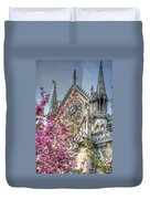 Vibrant Cathedral Duvet Cover