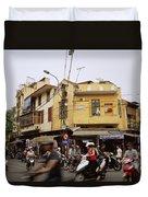 Vibrant Hanoi Duvet Cover
