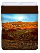Vibrant Hills Duvet Cover