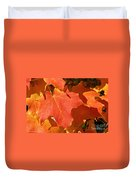 Vibrant Maple Duvet Cover