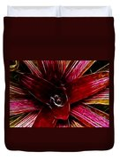 Vibrant Succulent  Macro Duvet Cover