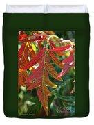 Vibrant Veins Duvet Cover