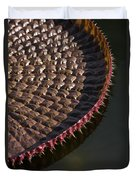 Victoria Amazonica Leaf Vertical Duvet Cover