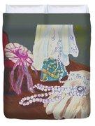 Victorian Lace Duvet Cover