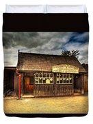 Victorian Shop Duvet Cover by Adrian Evans