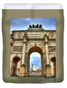 Victory Gate Duvet Cover