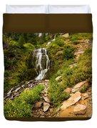 Vidae Falls Landscape Duvet Cover