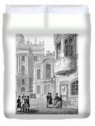 Vienna: Hofburgtheater Duvet Cover