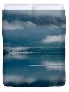 View At Sunset From The Lake Hotel In Killarney Ireland Duvet Cover