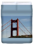 View By The Bay Duvet Cover