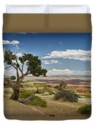 View From A Mesa Duvet Cover