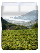 View From Catalina Island Duvet Cover