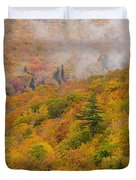 View From North Mountain Look-off Duvet Cover