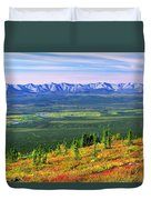 View From Ogilvie Ridge Lookout Duvet Cover