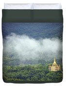 View From Phu Si Hill Duvet Cover