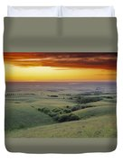 View From The Cypress Hills Duvet Cover