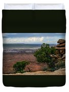 View Of Canyonland Duvet Cover