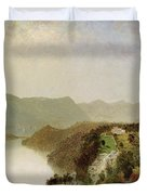 View Of Cozzen's Hotel Near West Point Ny Duvet Cover