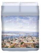 View Of Sebastopol  Duvet Cover