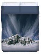 View Of The Combatant Col Duvet Cover