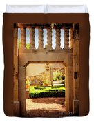 View Of The Garden Duvet Cover by Tamyra Ayles